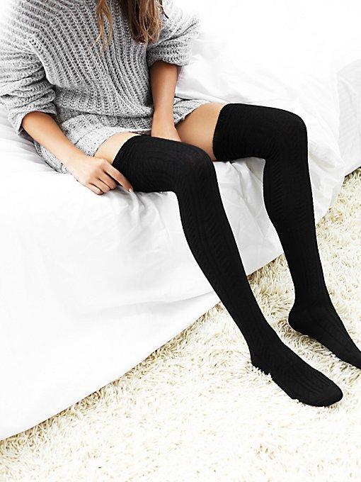 Montana Thigh High Sock