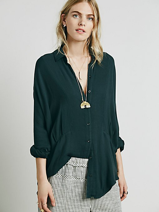 Dropped Seam Buttondown Shirt