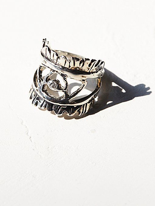 Eye Of The Warrior Ring