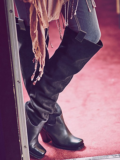 Staircase Suede Tall Boot