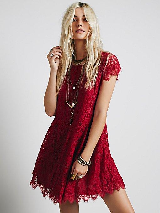 Stardust Lace Mini Dress