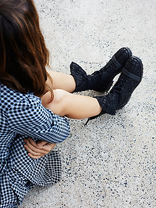 Masterclass Lace Up Ankle Boot