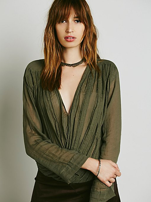 FP One Textured Solid Crop Wrap