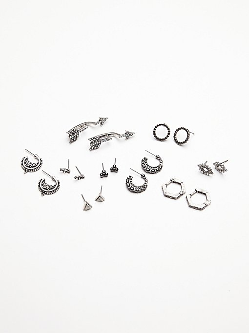 9 Pair Piercing Set