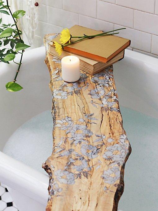 Flower Pressed Tub Board