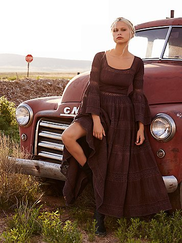 FP Vintage Revival Over-Dyed Nashville Dress