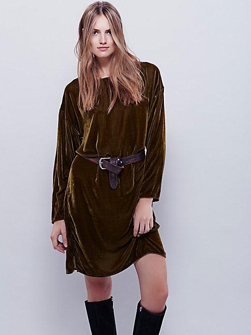 Bridget Velvet Dress