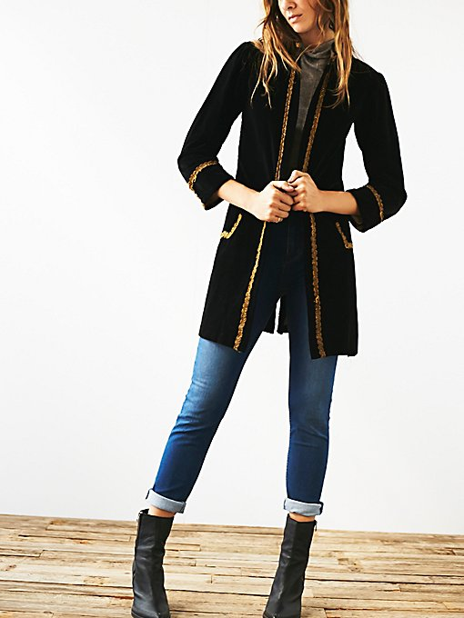 Vintage 1920s Velvet Jacket