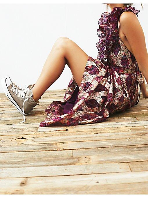 Vintage 1970s Halter Dress
