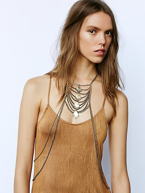 Lost in Labyrinth Body Chain