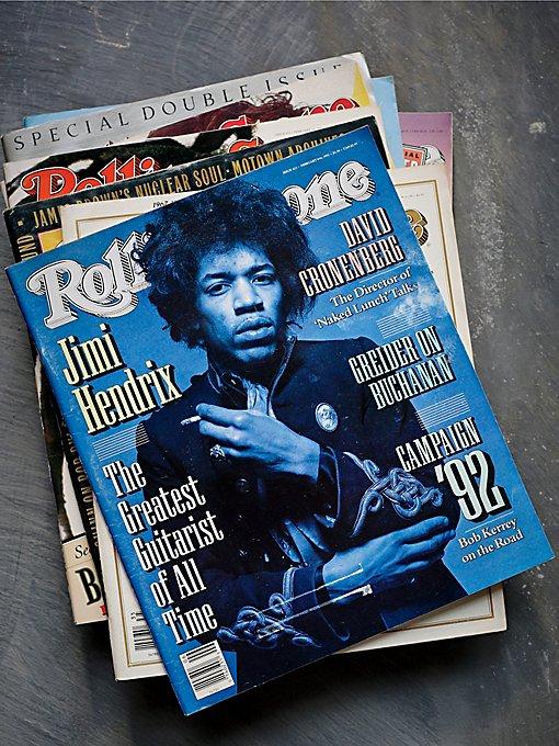 Vintage Loves Rolling Stone Magazine