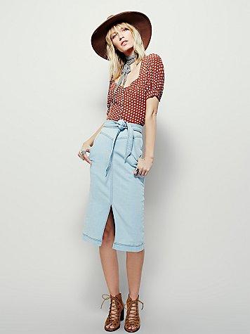 All Star Pencil Skirt