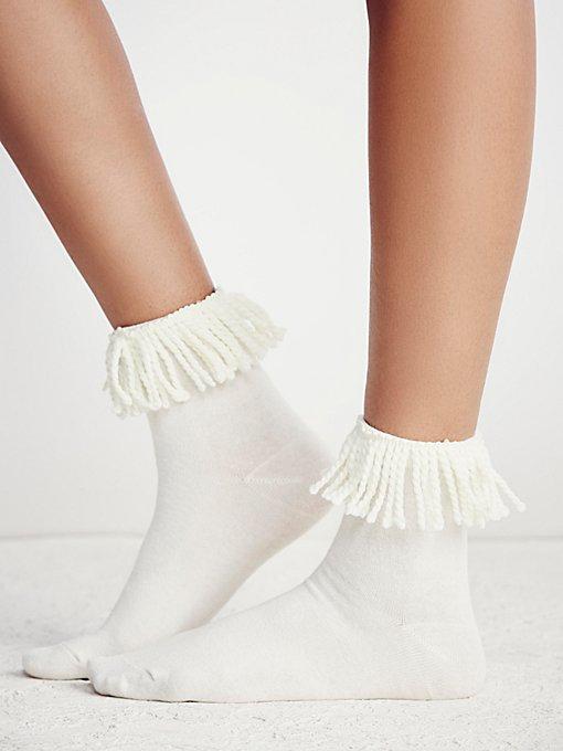 Tassel Crew Sock