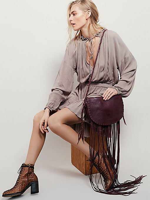 All That Fringe Crossbody