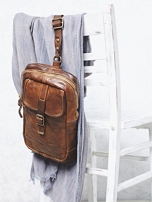 Positano Distressed Backpack