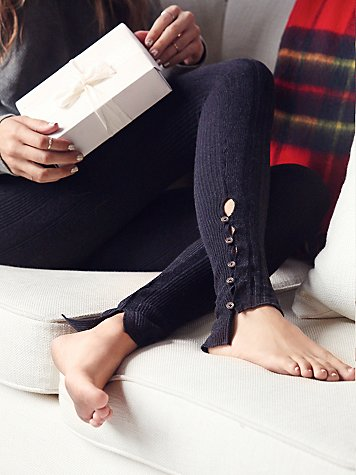 Button Up Legging