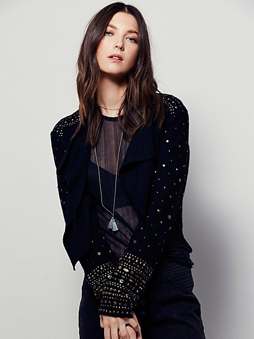 Sparkle Night Sweater Jacket