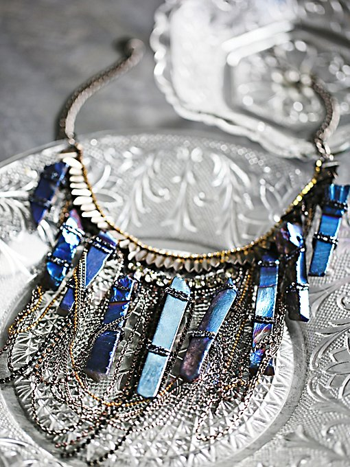 Ashlyn Statement Crystal Necklace