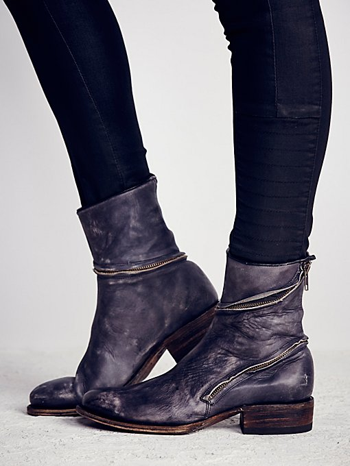 Essential Zipper Ankle Boot