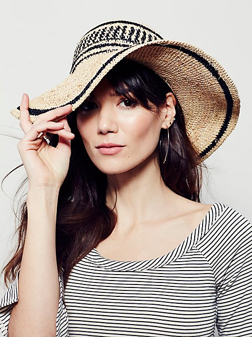 Clear Skies Straw Hat