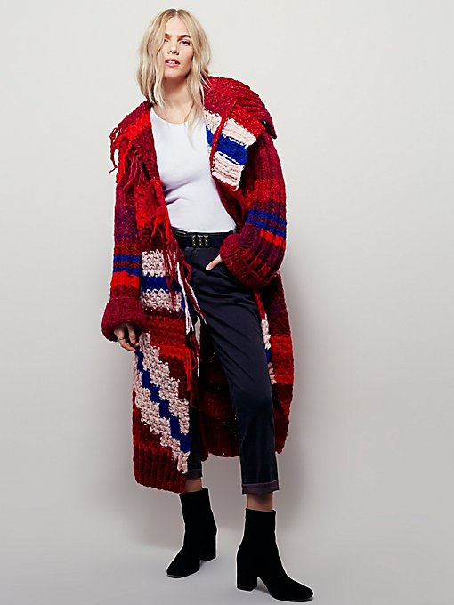 Abstract Anatolian Coat