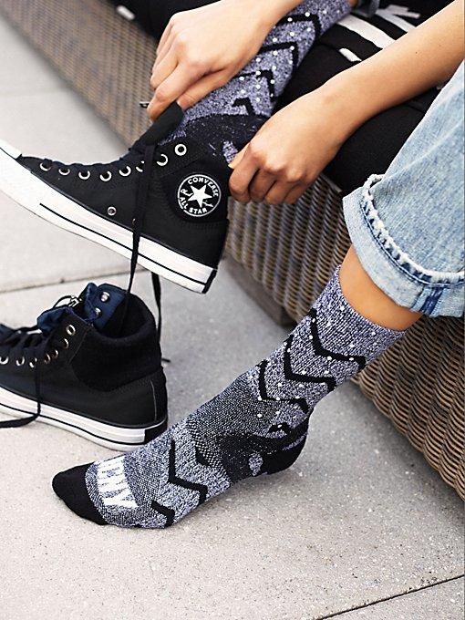 Zig Zag Reflective Sock