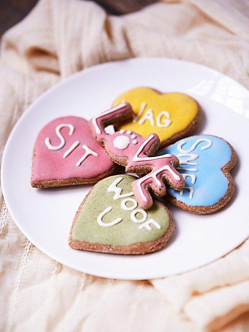 Valentine Cookie Dog Treat Set