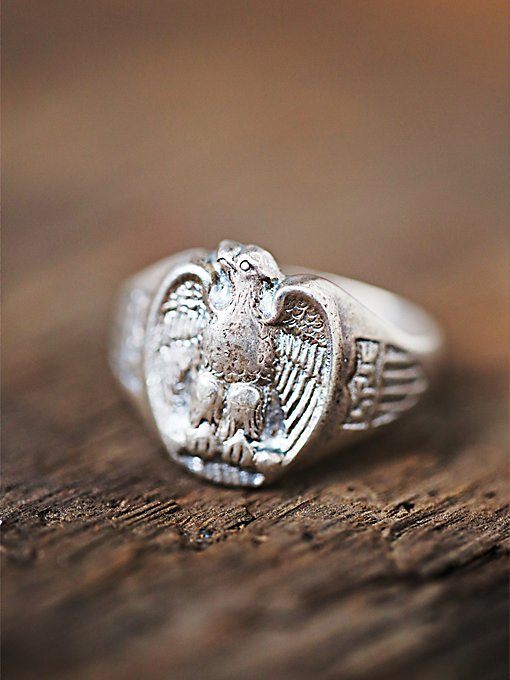 Vintage Motorcycle Ring