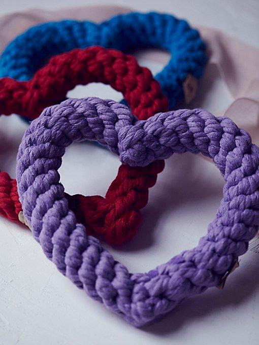 Heart Breaker Rope Toy