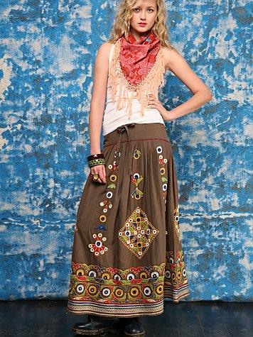 Mirror Mirror Folk Skirt
