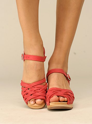 Strappy Sandal Clog by Swedish Hasbeens