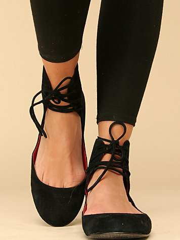 Barcode Ankle Flat