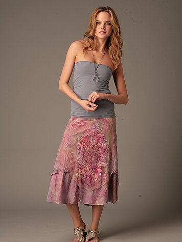 Tie Dyed Convertible Skirt
