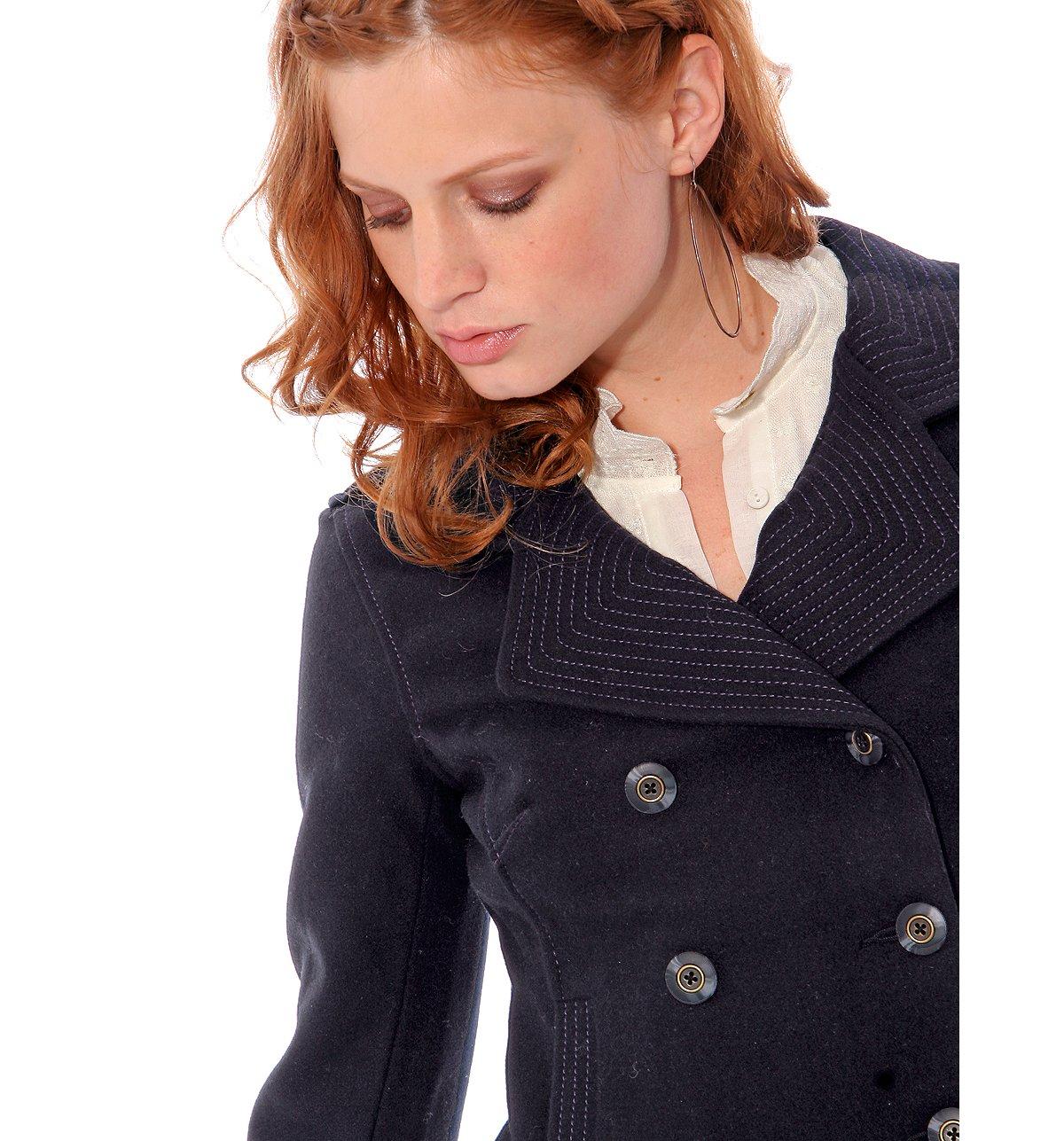 Cropped Pea Coat