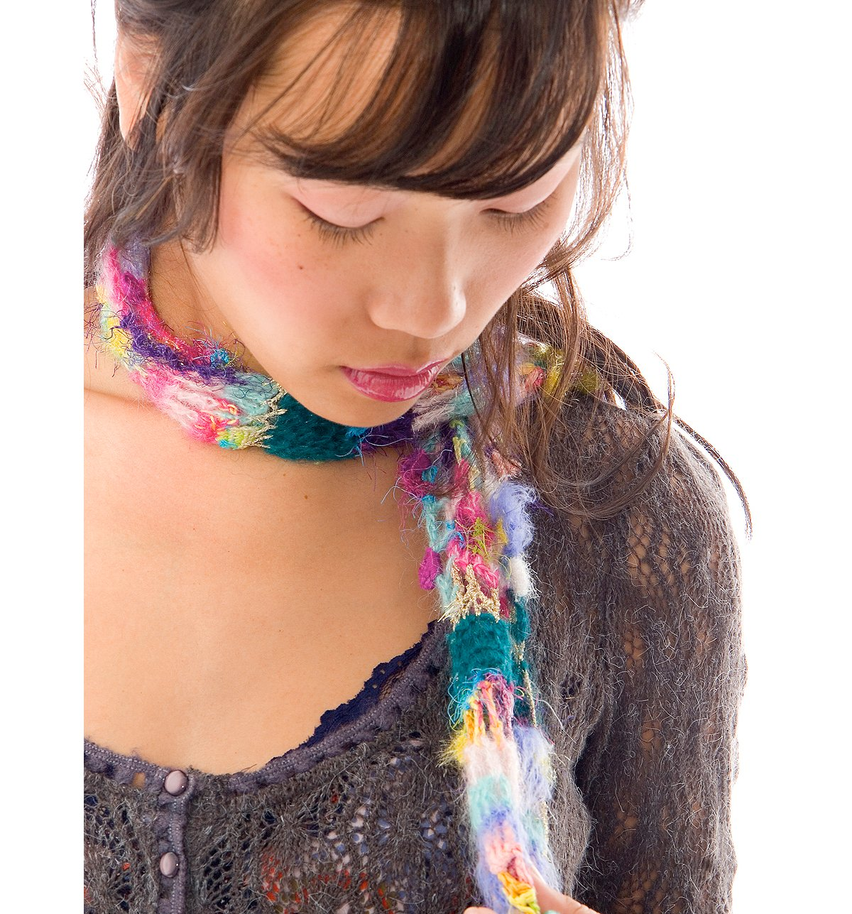 Crazy Patched Scarf