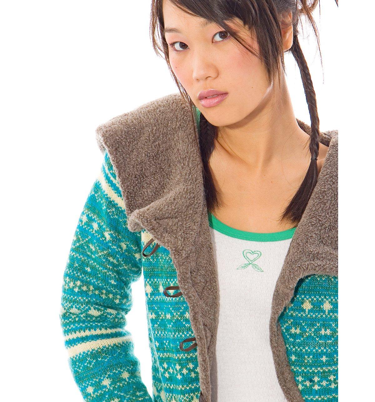 Fairisle Sherpa Hoodie
