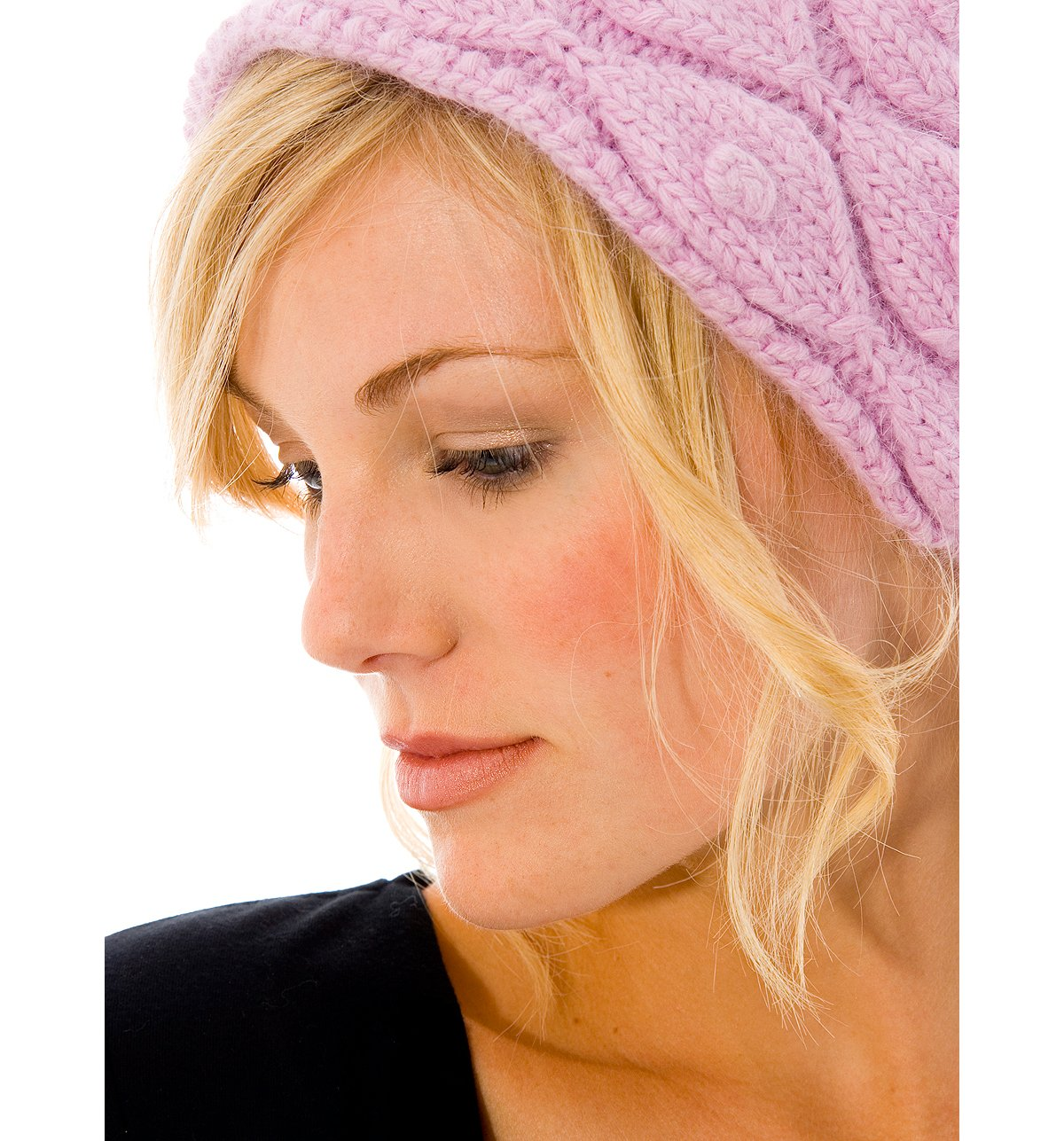 Snow Ball Angora Headband
