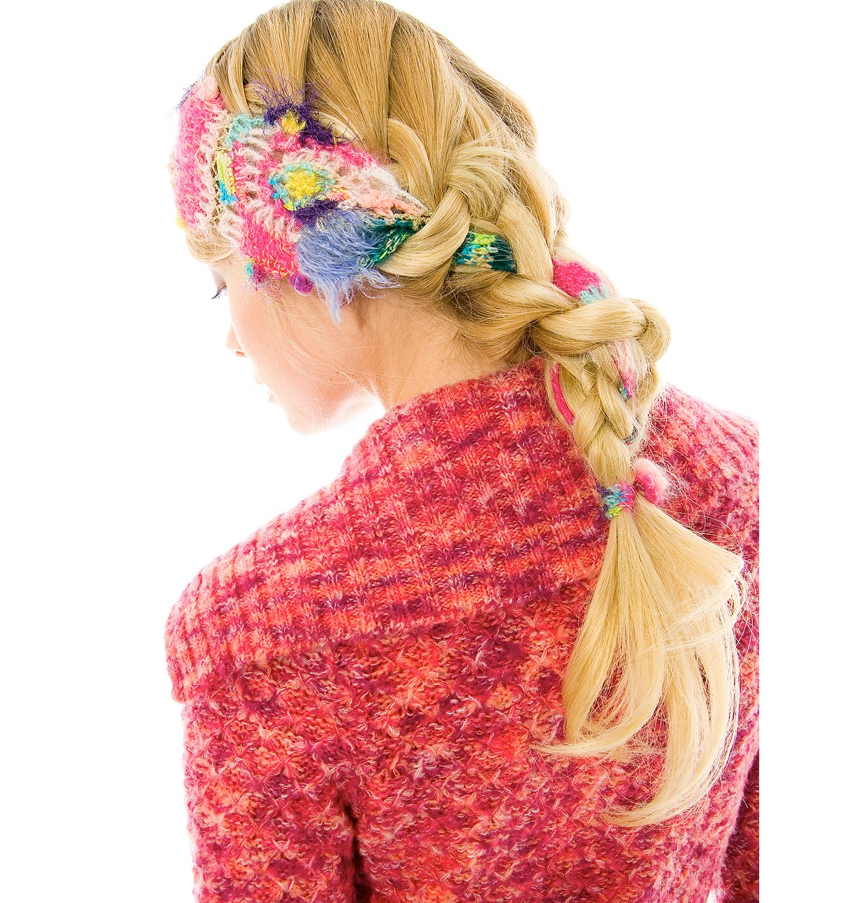 Mismatched Yarn Headband