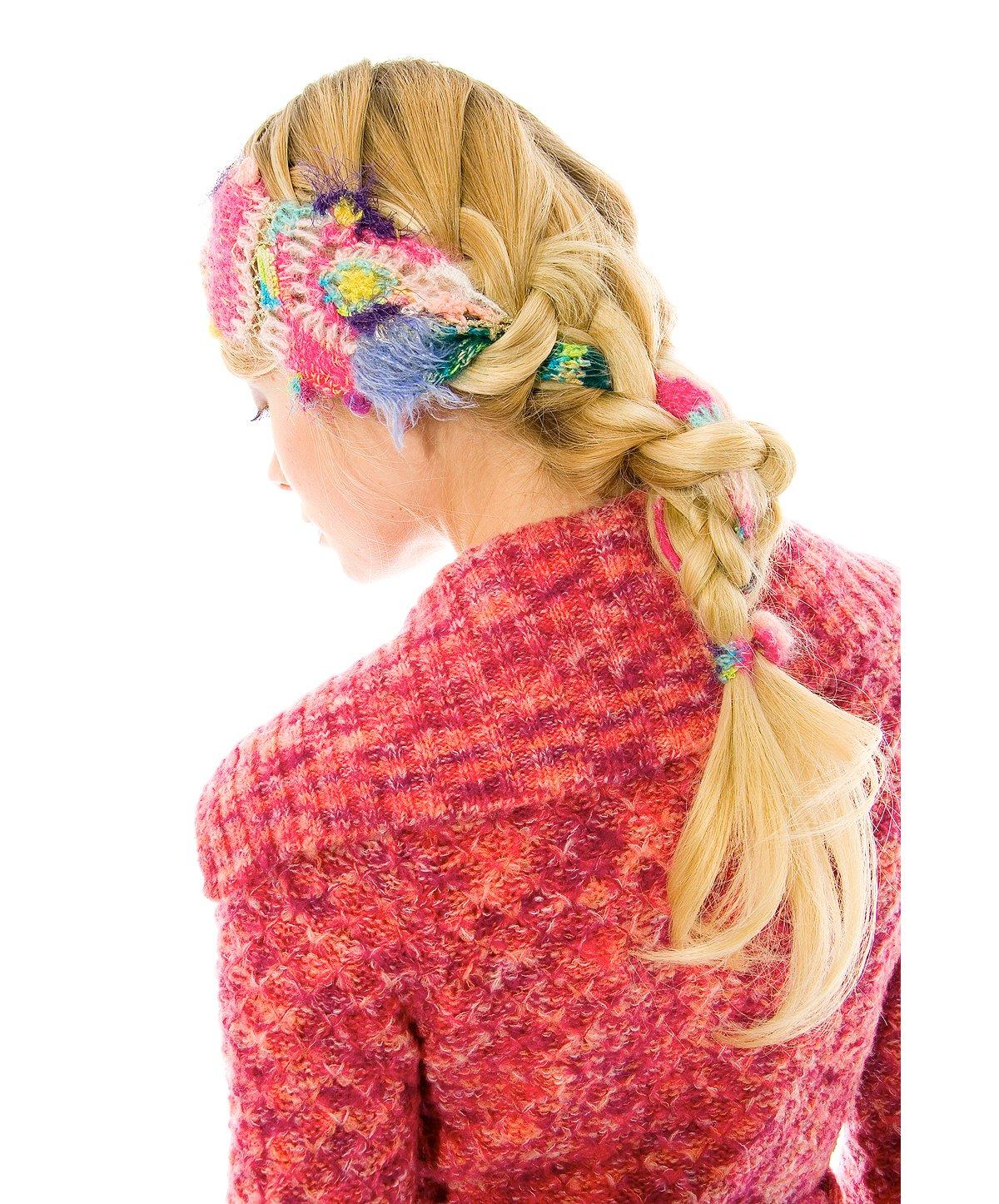 Mismatched Yarn Headband