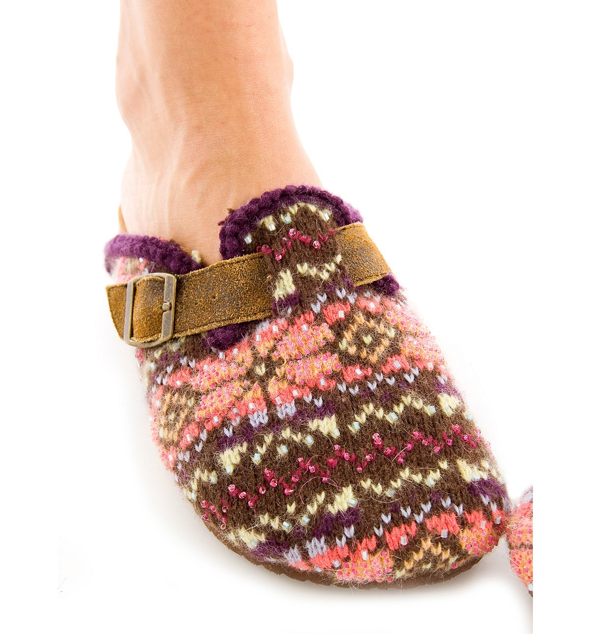 Snowflake Fairisle Footbed