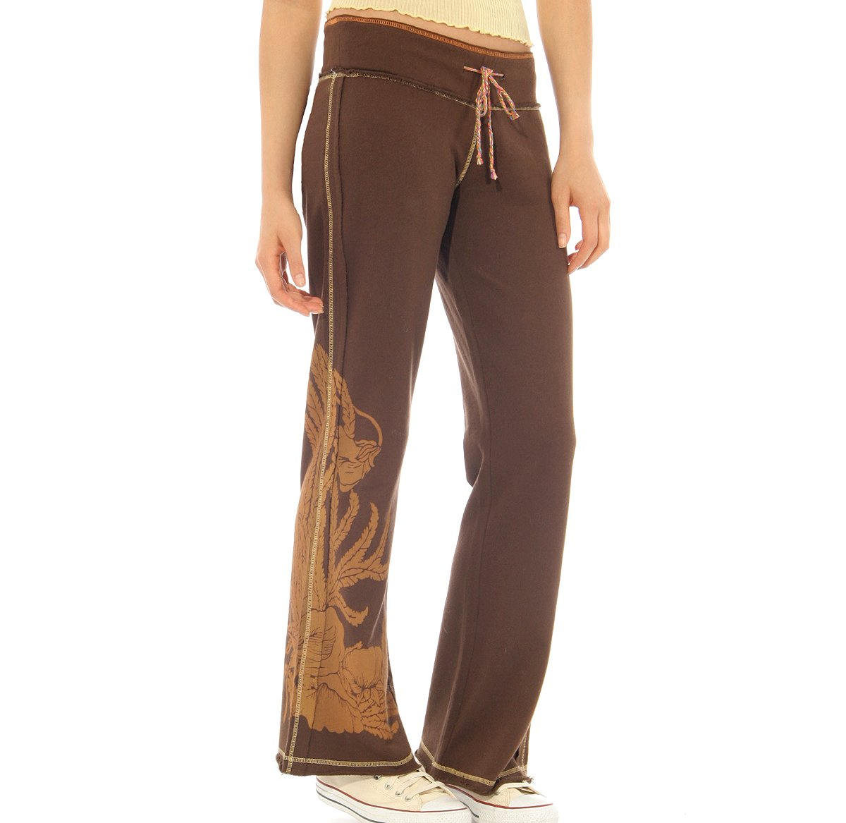 Silky French Terry Screenprint Pant