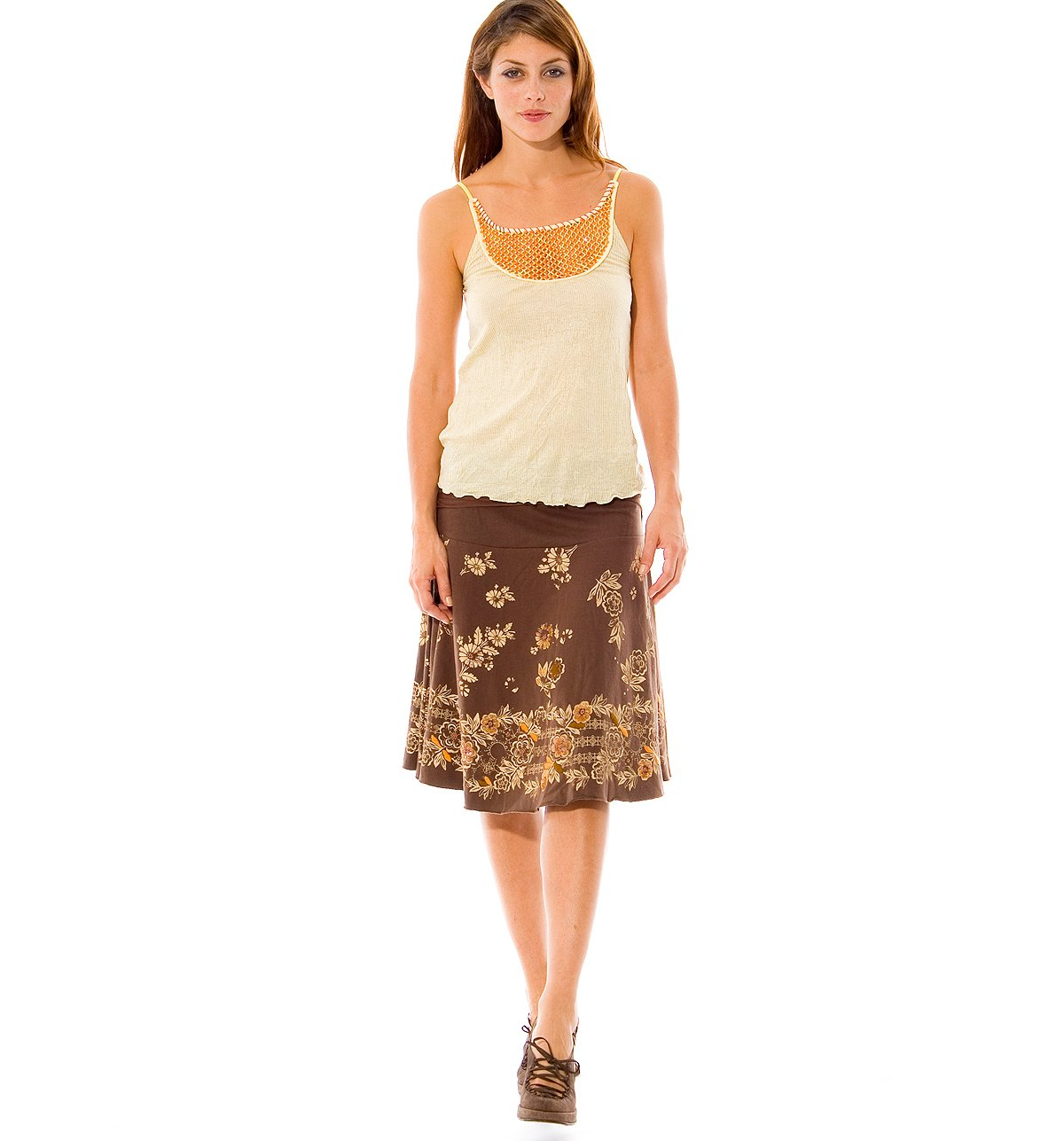 Stamp Act Sequined Skirt