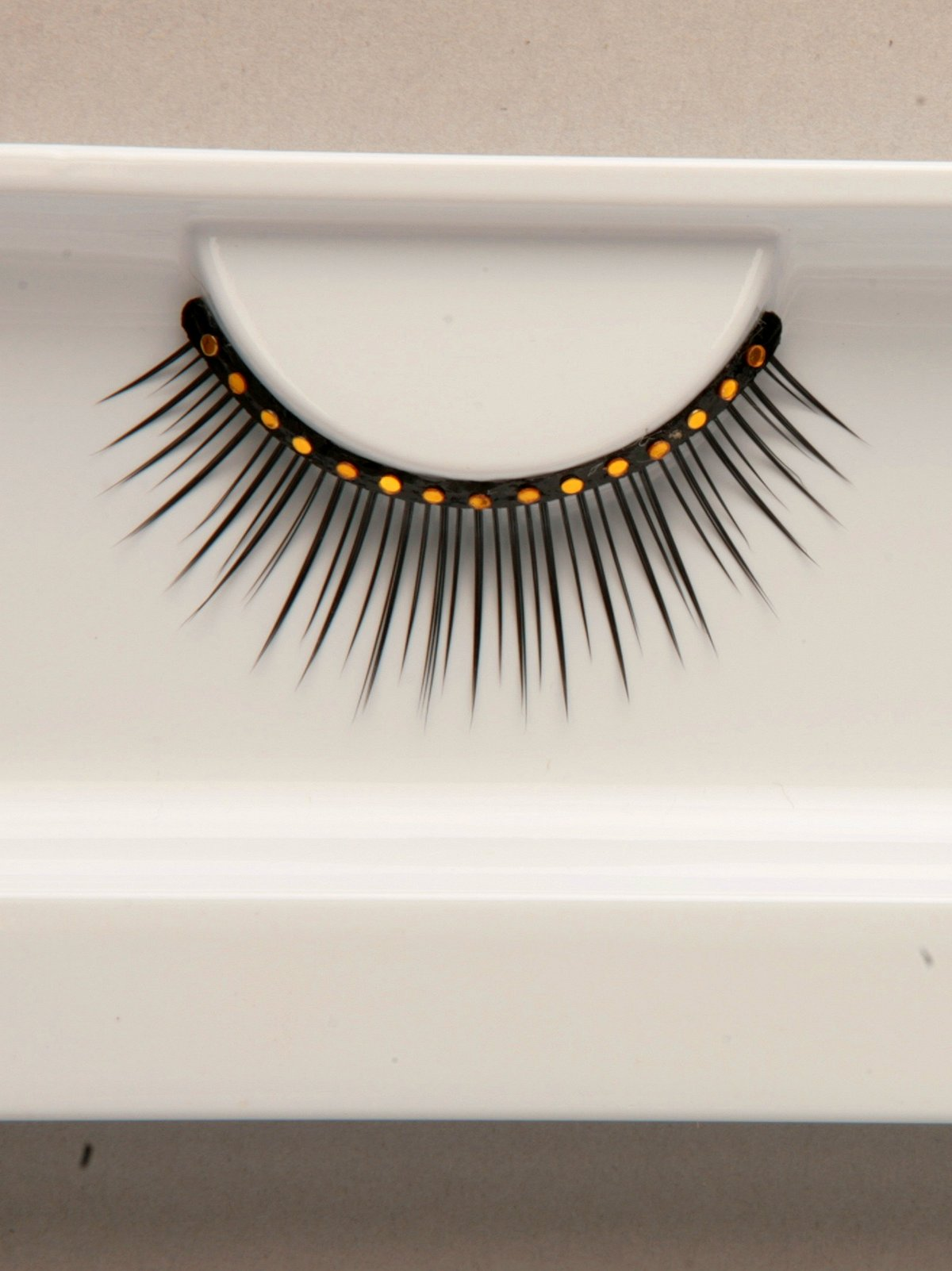 Gold Stud Eyelashes