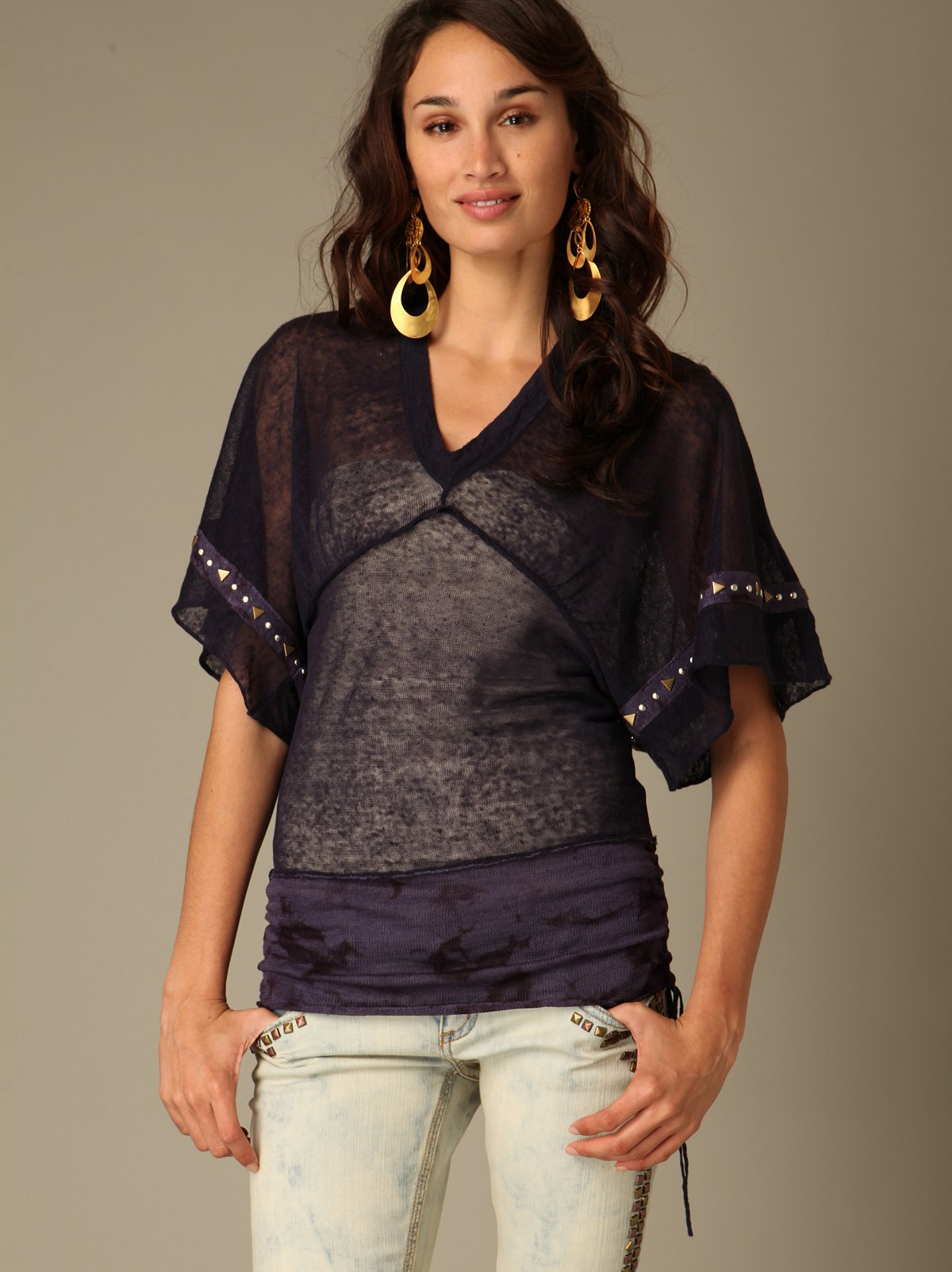 We The Free Flutter Sleeve Tunic