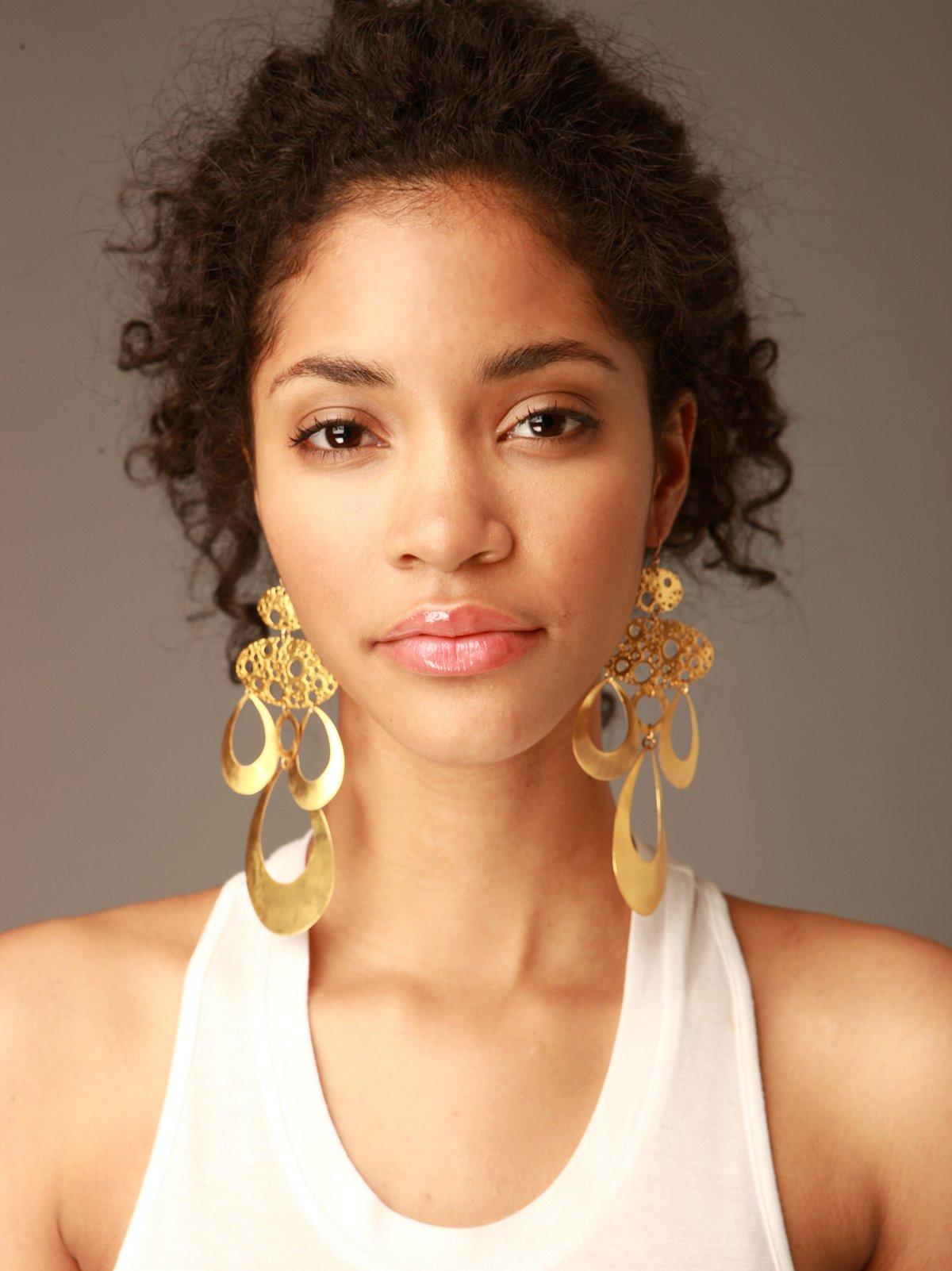 Electrum Gold Earrings