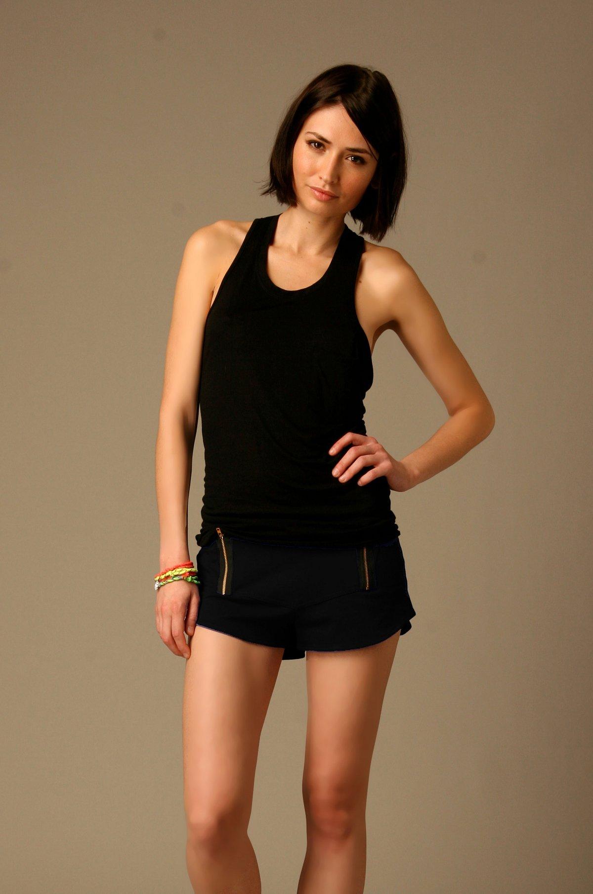 LnA Zipper Knit Short