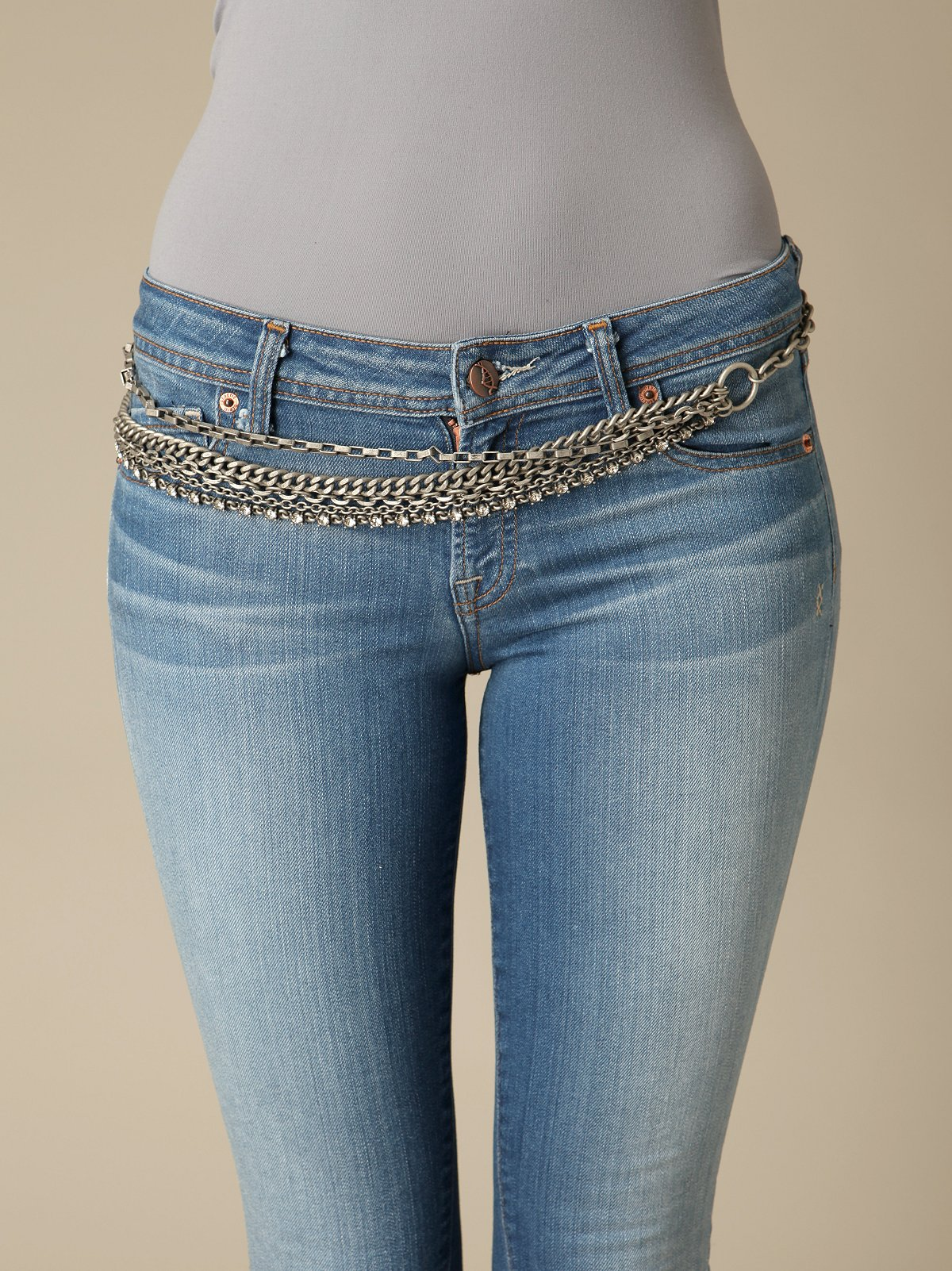 Glam Rock Chain Belt