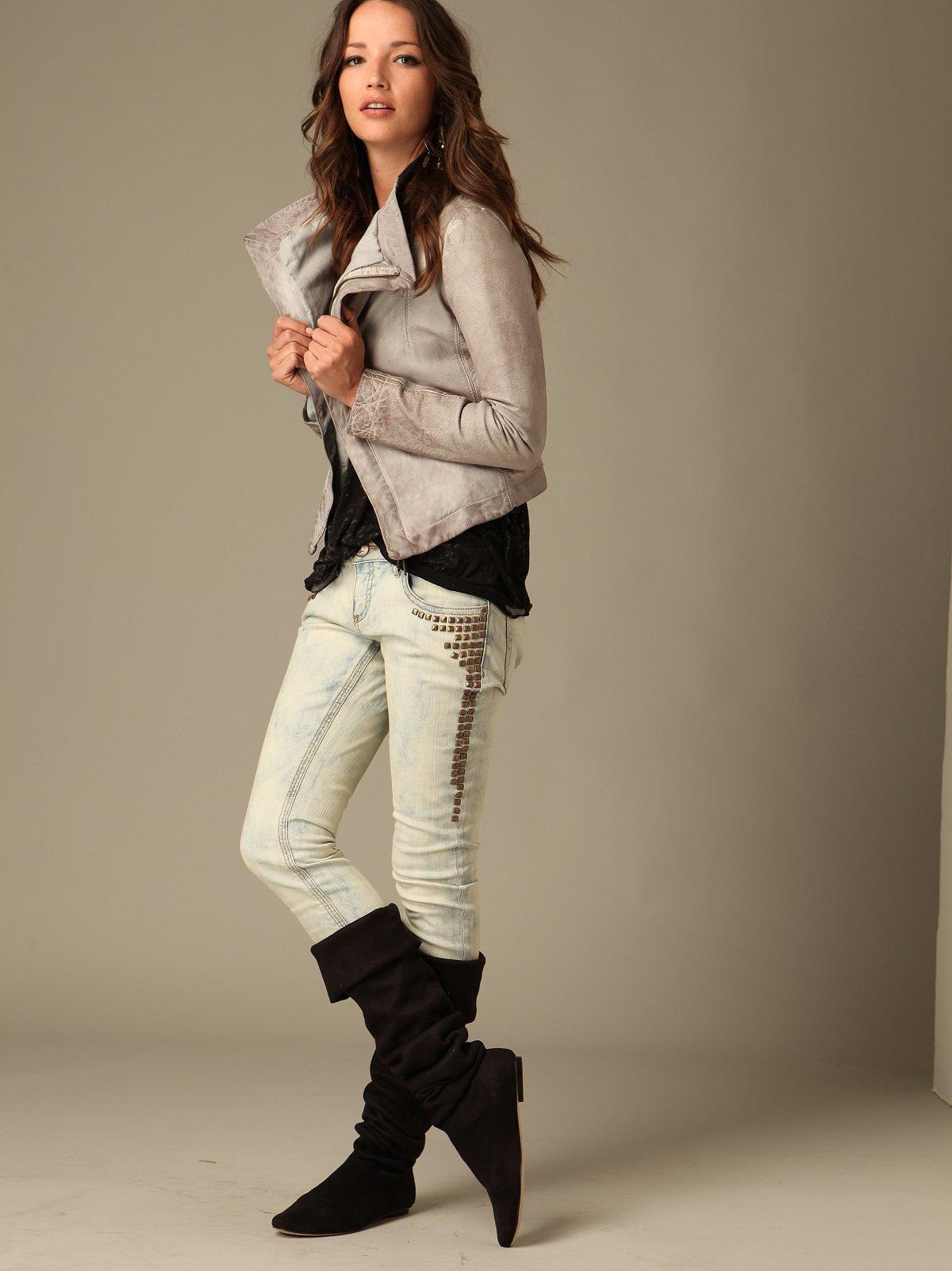 FP Stud Super Skinny Jeans
