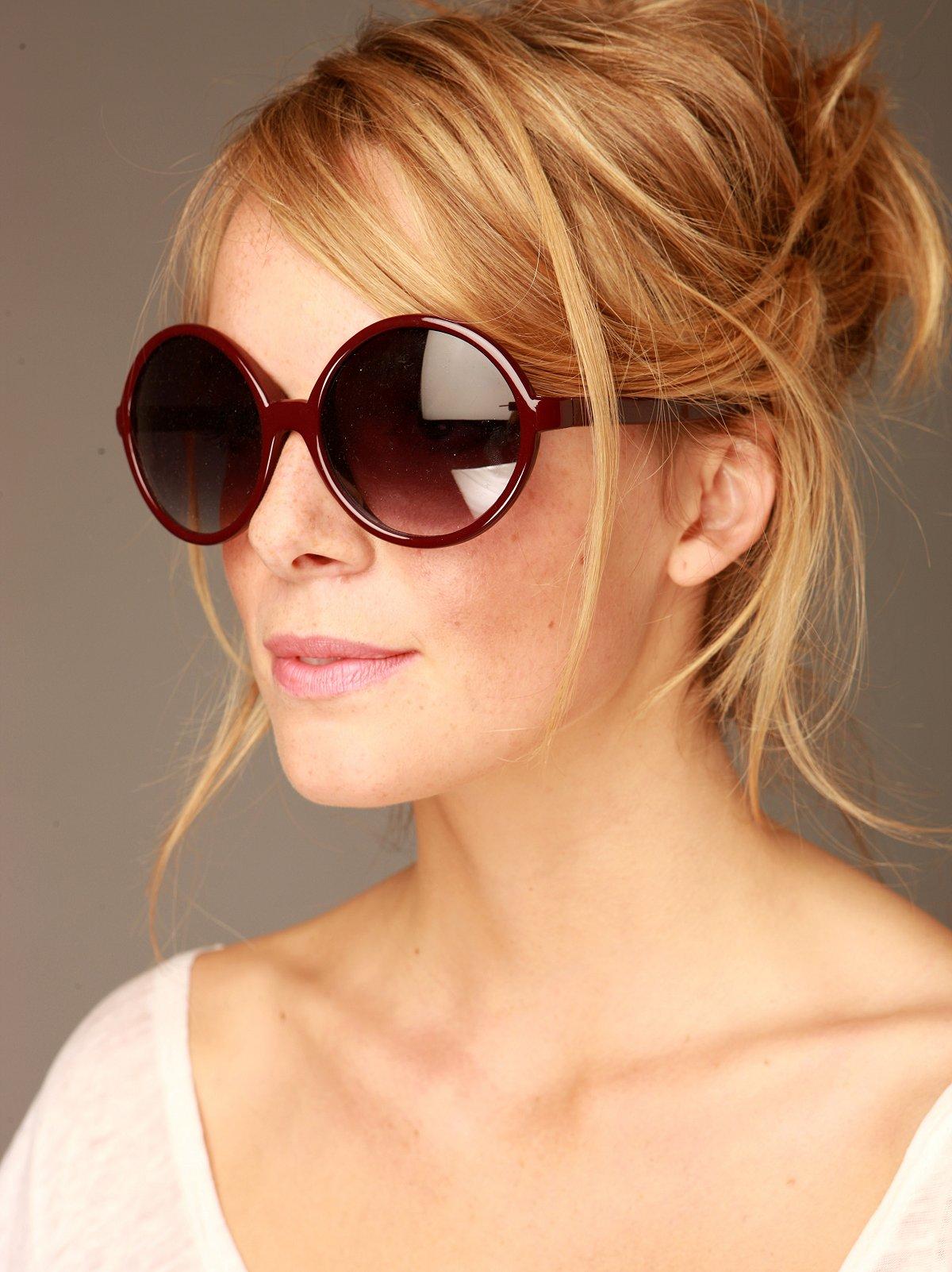 Niki Round Sunglasses