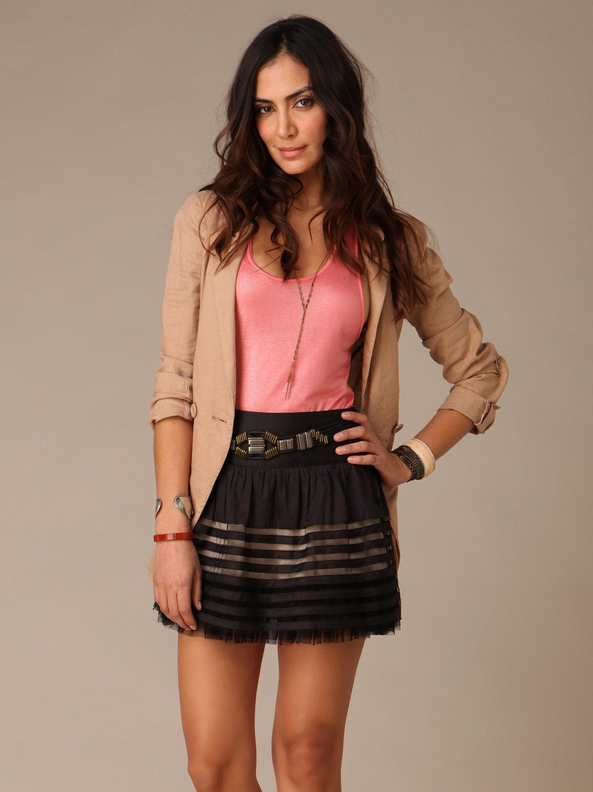 Sateen Ribbon Skirt